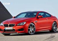 2017 BMW M6 Coupe's exterior image