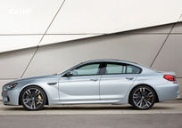 2017 BMW M6 Left Side View