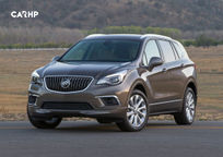 2018 Buick Envision's exterior image