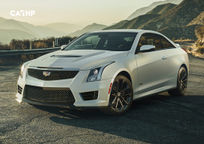 2019 Cadillac ATS-V Coupe's exterior image