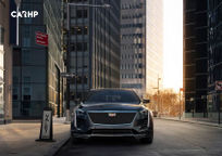 2020 Cadillac CT6 Front View
