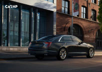 2020 Cadillac CT6 Right Side View