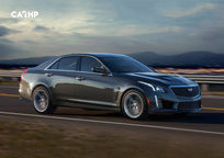 2019 Cadillac CTS-V Right Side View