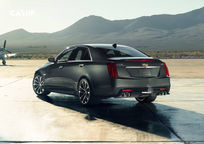 2019 Cadillac CTS-V Rear 3 Quarter View