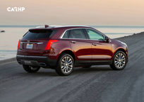 2019 Cadillac XT5 3 Quarter View
