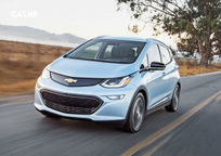 2017 Chevrolet Bolt EV electric's exterior image