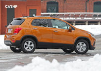 2019 Chevrolet Trax Right Side View
