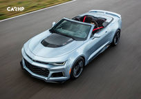 2019 Chevrolet Camaro ZL1 Convertible 3 Quarter View