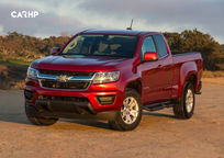 2019 Chevrolet Colorado Extended Cab 3 Quarter View