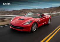 2019 Chevrolet Corvette Grand Sport Convertible 3 Quarter View