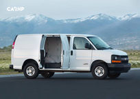 2019 Chevrolet Express Cargo Right Side View