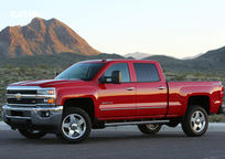 2019 Chevrolet Silverado 2500HD Left Side View
