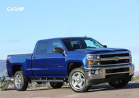 2019 Chevrolet Silverado 2500HD 3 Quarter View