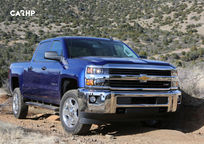 2019 Chevrolet Silverado 2500HD Front View