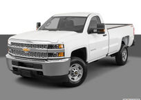 2019 Chevrolet Silverado 2500HD Regular Cab exterior