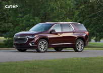 2020 Chevrolet Traverse Left Side View