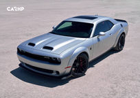 2019 Dodge Challenger SRT Hellcat Coupe Top View