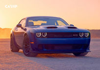2019 Dodge Challenger SRT Hellcat Coupe Front View