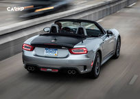 2019 Fiat 124 Spider Abarth Convertible Rear View