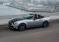2019 Fiat 124 Spider Abarth Convertible Left Side View