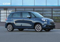 2019 Fiat 500L Right Side View