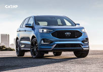 2019 Ford Edge ST SUV 3 Quarter View