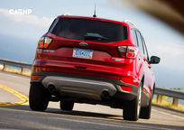 2020 Ford Escape Rear View