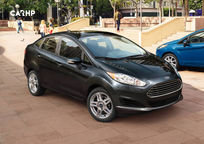 2020 Ford Fiesta 3 Quarter View