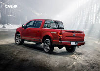 2019 Ford F-150 SuperCrew Rear 3 Quarter View