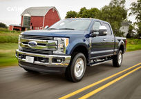 2019 Ford F-250 SuperDuty diesel Crew Cab 3 Quarter View