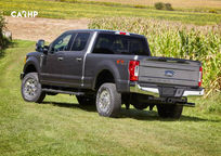 2019 Ford F-250 SuperDuty diesel Crew Cab Rear 3 Quarter View
