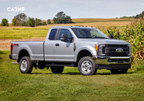 2019 Ford F-250 SuperDuty SuperCab Left Side View