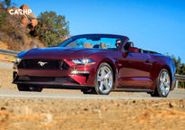 2020 Ford Mustang Convertible 3 Quarter View