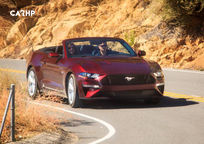 2019 Ford Mustang Convertible Front View