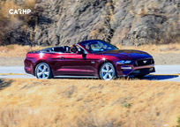 2020 Ford Mustang Convertible Right Side View
