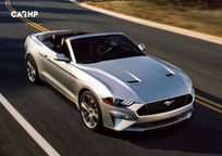 2019 Ford Mustang Convertible exterior