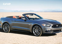 2019 Ford Mustang GT Convertible 3 Quarter View