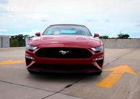 2020 Ford Mustang Convertible Front View