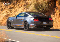 2019 Ford Mustang Rear 3 Quarter View