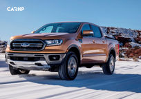 2019 Ford Ranger 3 Quarter View