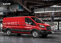 2019 Ford Transit Right Side View