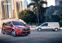 2019 Ford Transit Connect Wagon Minivan 3 Quarter View