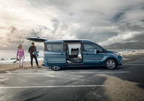 2019 Ford Transit Connect Wagon Minivan Right Side View