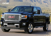 2020 GMC Sierra 3500HD Front View