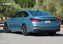 2019 Genesis G80 Rear 3 Quarter View