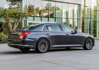 2019 Genesis G90 Rear 3 Quarter View