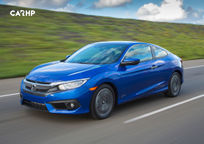 2017 Honda Civic Si Coupe's exterior image