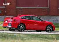 2019 Honda Civic Si Right Side View