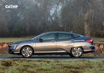2018 Honda Clarity plug-in hybrid Left Side View