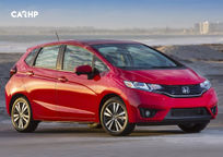 2017 Honda Fit 3 Quarter View